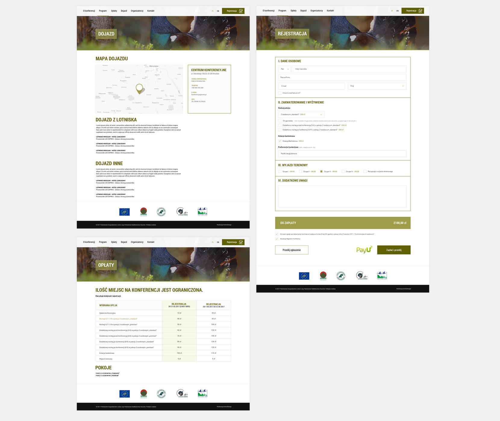 Strona internetowa dla eventówjednorazowych