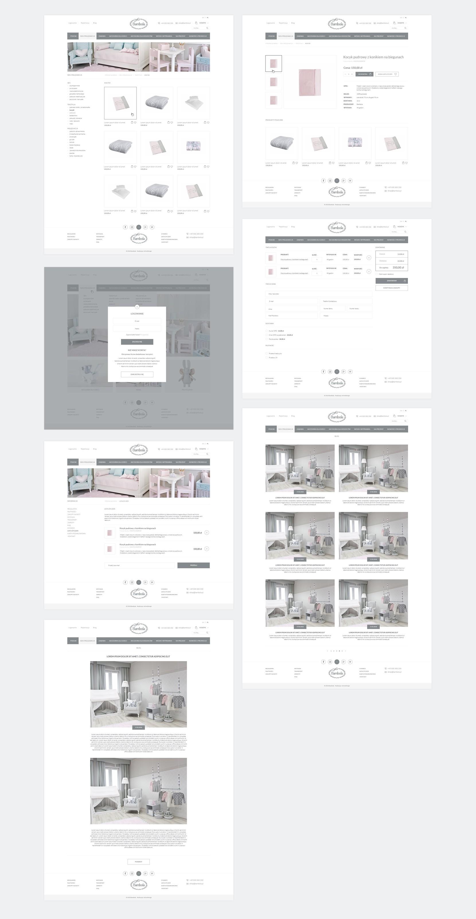 projektowanie sklepów active design