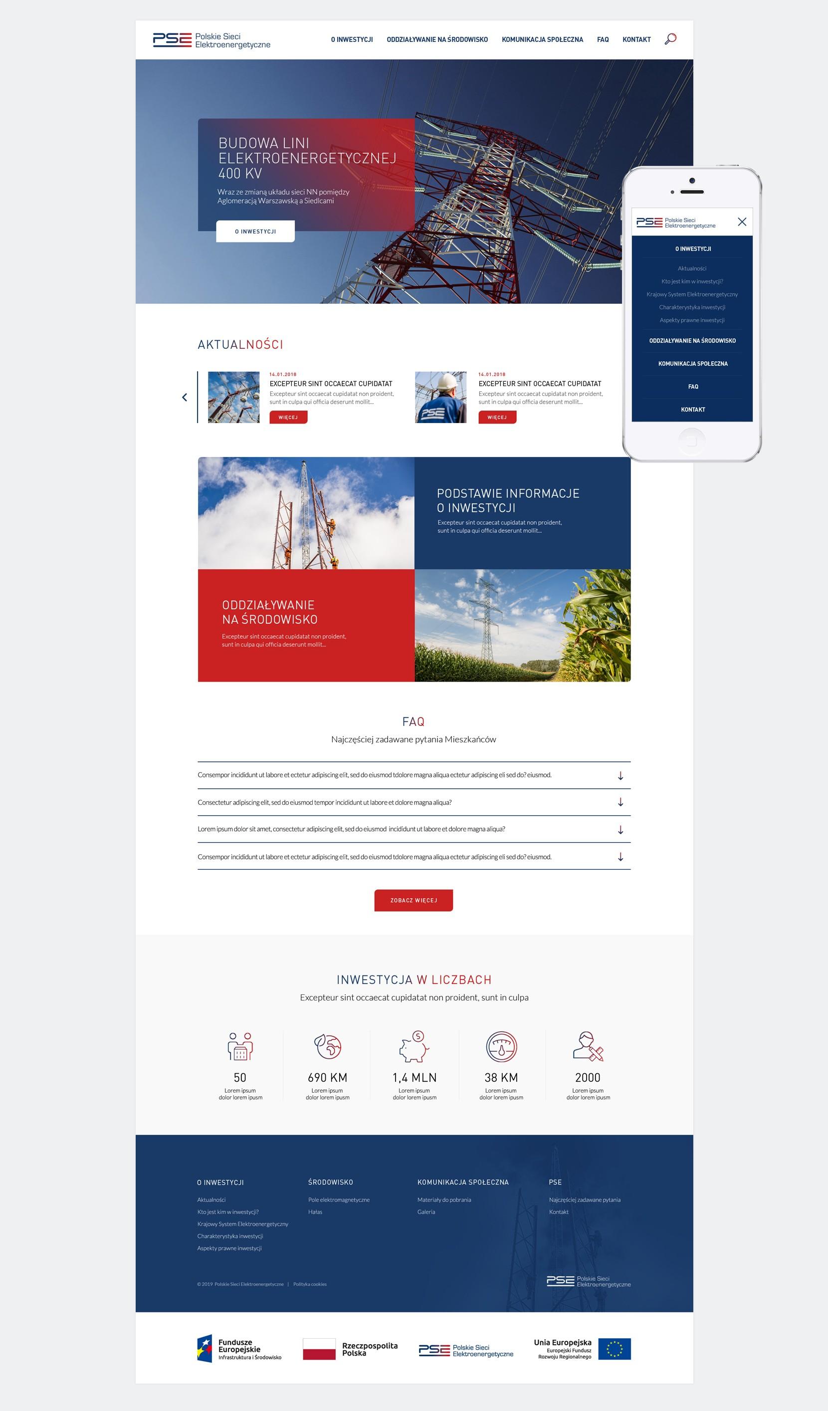 strona dla polskich sieci energetycznych